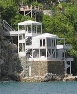 British Virgin Islands luxury beachfront seaview houses