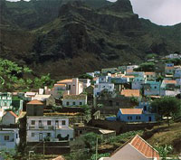 Cape Verde seaview hillside properties and real estate