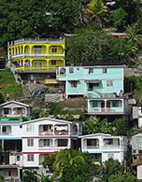 Dominica ocean view properties