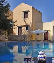 Greece luxury houses