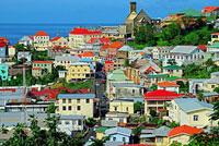Grenada St George´s harbour