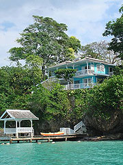 Jamaica waterfront vacation house villas properties ocean view