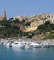 Malta hillside luxury houses