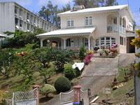 Martinique hillside properties