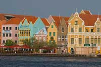 Netherlands Antilles waterfront houses