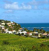 martinique luxury oceanview hillside houses