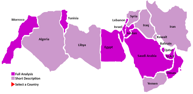 Middle-East map
