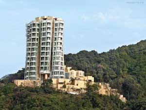 Top 3 residential buildings in China, Brazil