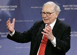 Warren Buffet affirms liking of U.S. property markets with $4B bid