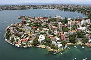 Australia property auctions turn positive results